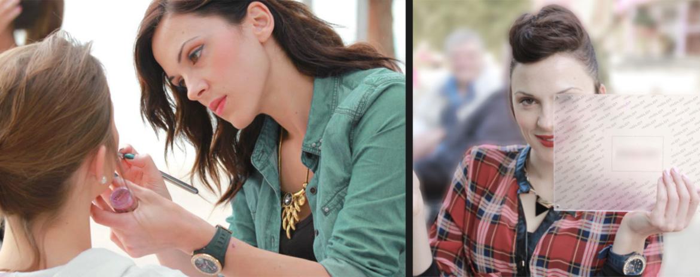 Jenny Sourdi makeup artist & stylist