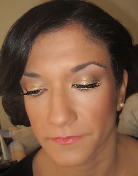 Aisthitko makeup gold